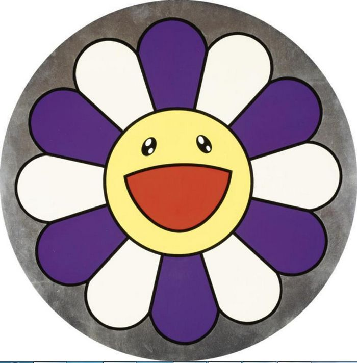 Takashi Murakami-Flower of Joy (Forget-me-Not)-2007