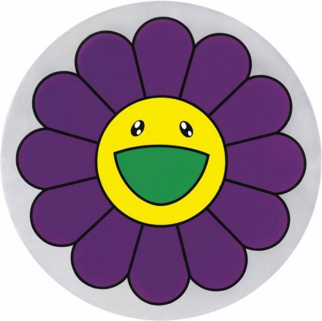 Takashi Murakami-Flower of Joy - Violet-2007