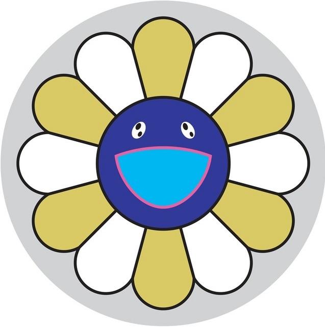 Takashi Murakami-Flower of Joy (Yellow Ochre)-2007