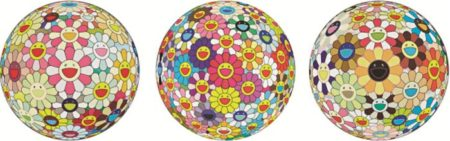 Takashi Murakami-Flowerball (3D), Flowerball (3D) Sunflower, Flowerball Margaret-2007