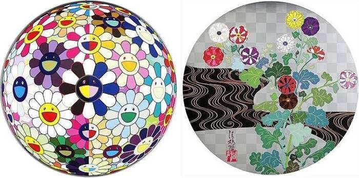 Takashi Murakami-Flowerball (3D) from the Realm of the Dead, Kansei-2010