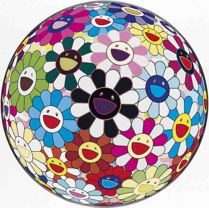 Takashi Murakami-Flowerball Blood (3D) V-2007