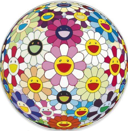 Takashi Murakami-Flowerball Pink-2007