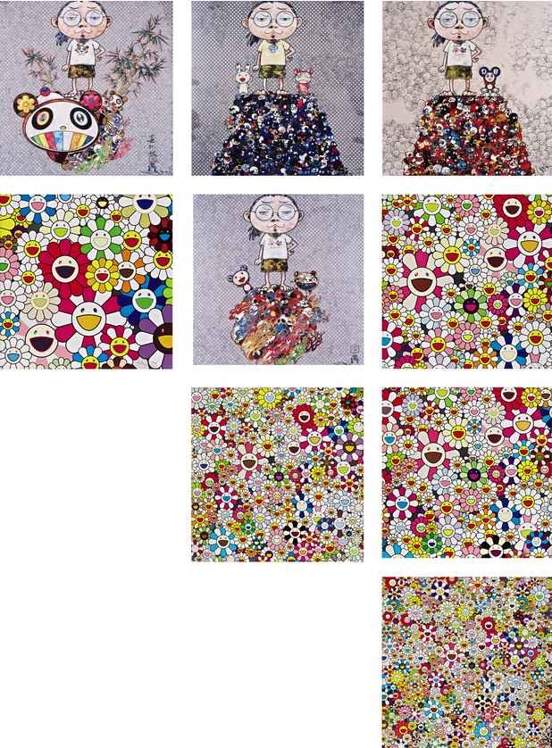 Takashi Murakami-Flowers Blooming in this World and 8 Other Works-2013