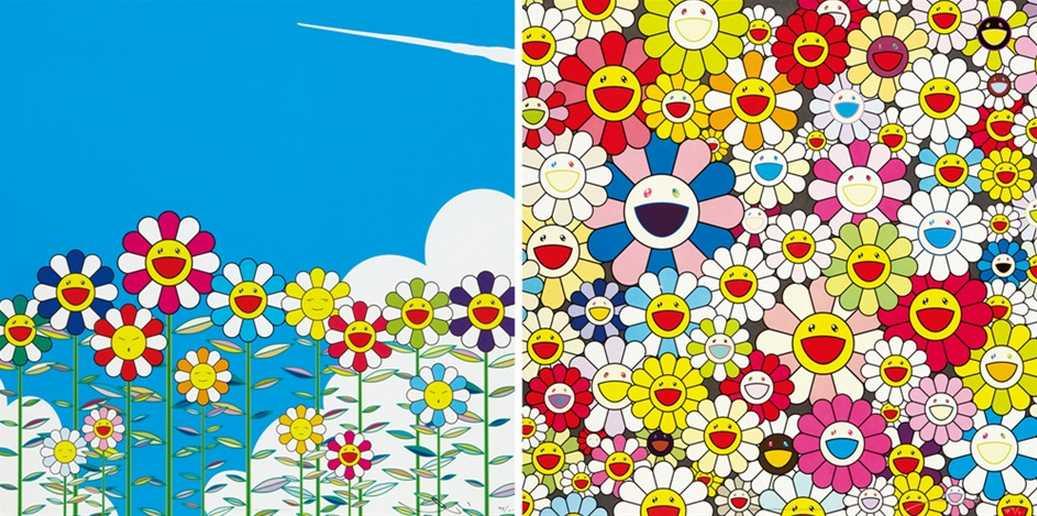Takashi Murakami-Flowers, Such Cute Flowers-2010