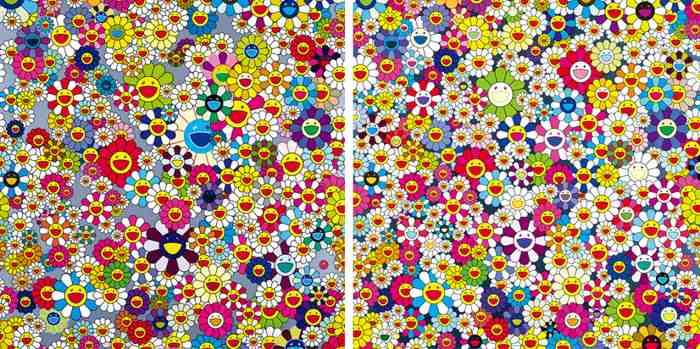 Takashi Murakami-Flowers, flowers, flowers; Flower superflat-