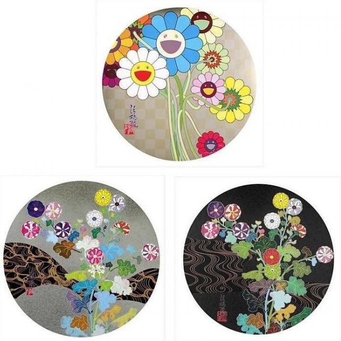 Takashi Murakami-Flowers for Algernon, Architect of the Heart, Kansei: Skulls-2011