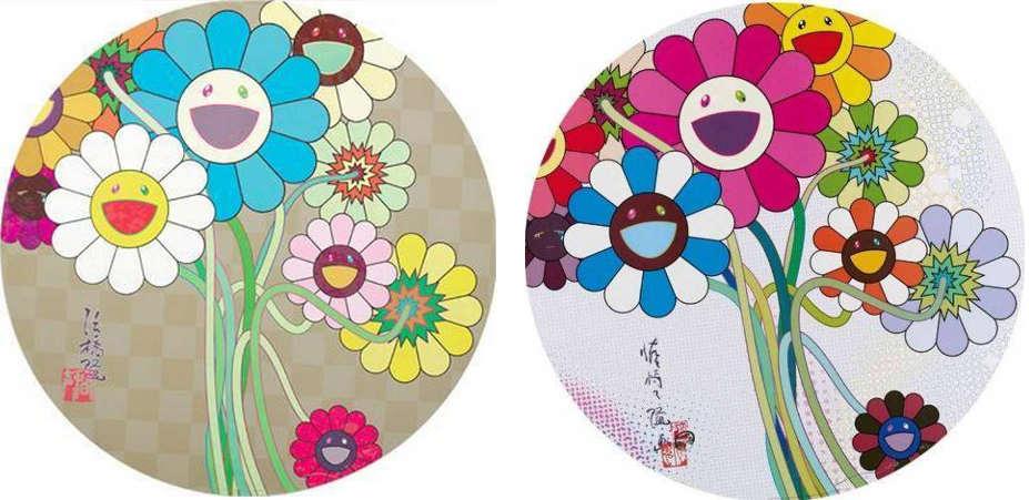 Takashi Murakami-Flowers for Algernon, Even The Digital Realm Has Flowers to Offer-2011