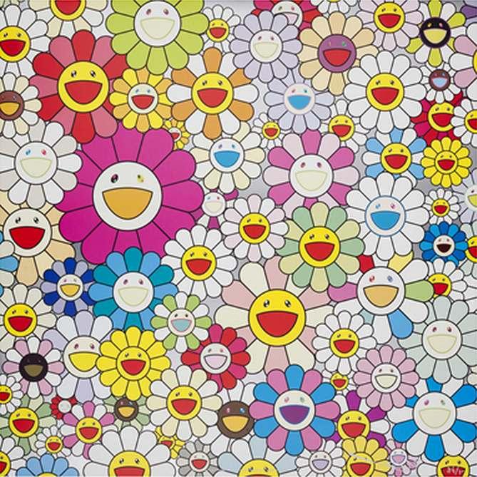 Takashi Murakami-Flowers from the Village of Ponkotan-2011