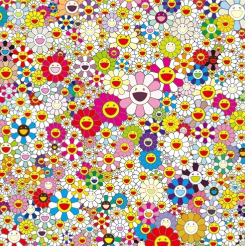 Takashi Murakami-Flowers in Heaven-2010