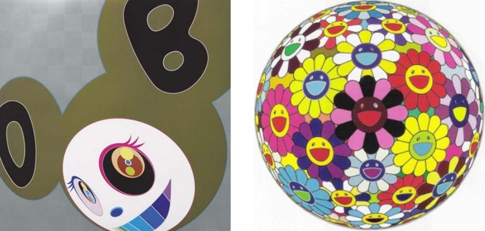 Takashi Murakami-Golden DOB, Flower Ball (Kindergarden Days)-2006