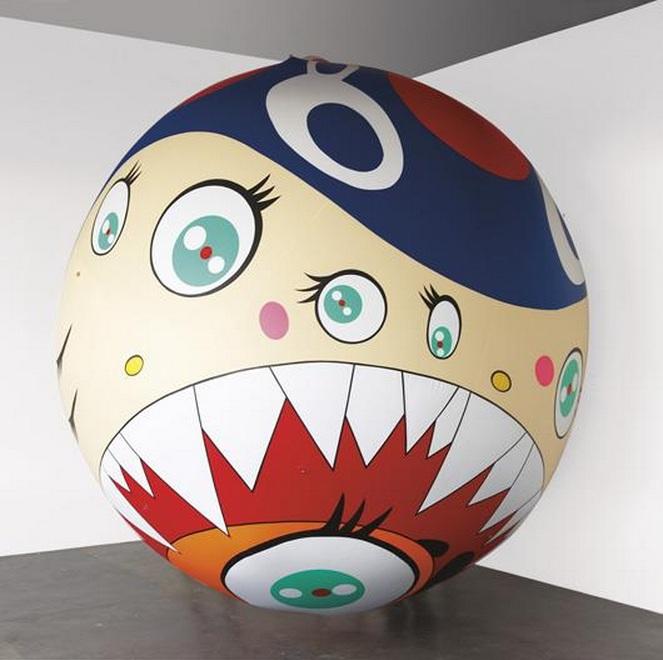 Takashi Murakami-Guru Guru-1998