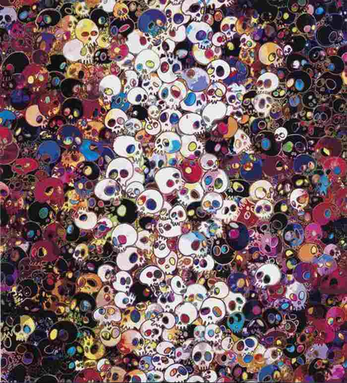Takashi Murakami-I Do Not Rule My Dreams, My Dreams Rule Me-2011