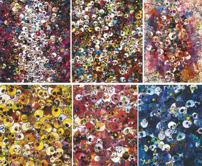 Takashi Murakami-I Do Not Rule My Dreams, My Dreams Rule Me, There Are Little People Inside Me, I ve Left My Love Far Behind..., MGST 1962-2011; MCRST 1962-2011, MCBST 1959-2011-2011