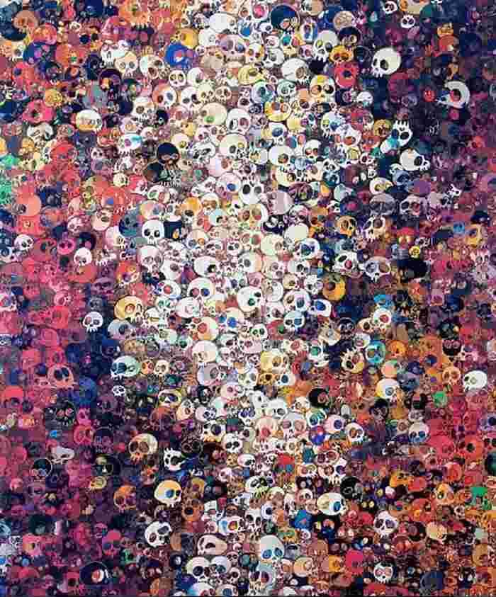 Takashi Murakami-I Know Not. I Know-2010