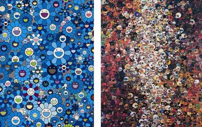 Takashi Murakami-I Know Not. I Know, An Homage to IKB,1957-