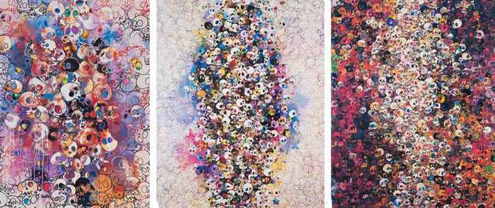 Takashi Murakami-I ve Left My Love Far Behind Their Smell, Every Momento, Who s Afraid of Red, Yellow Blue and Death, I Know Not I Know-2011