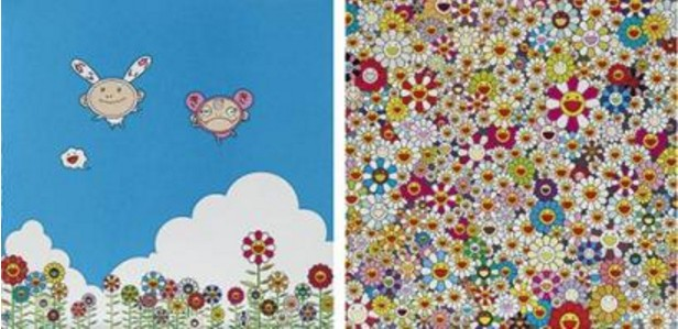 Takashi Murakami-If Only I Could Do This, Flowers-2010