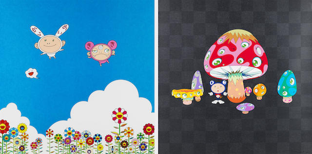 Takashi Murakami-If only I could do this, If only I could do that; Poke!-2009