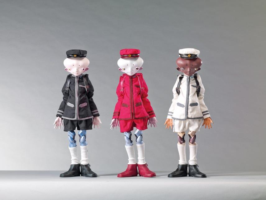 Takashi Murakami-Inochi Doll: Victor, David, Bob-2009