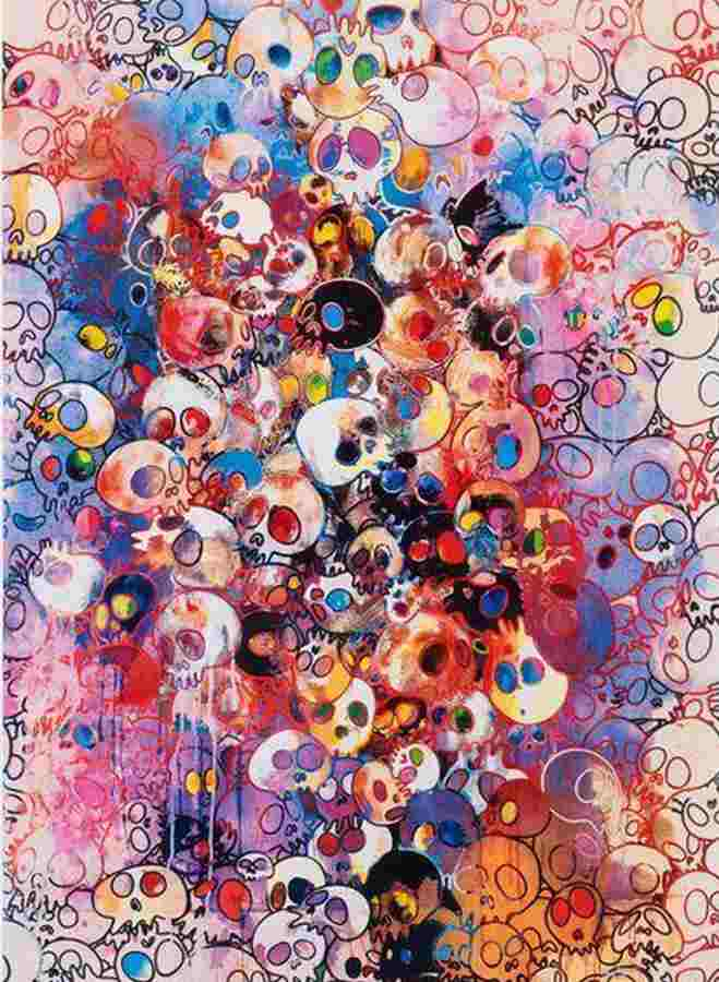 Takashi Murakami-I've Left My Love Far Behind Their Smell, Every Memento-2010