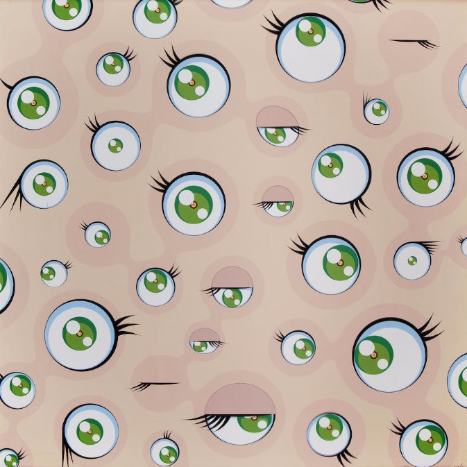 Takashi Murakami-Jelly Fish Eyes-2001
