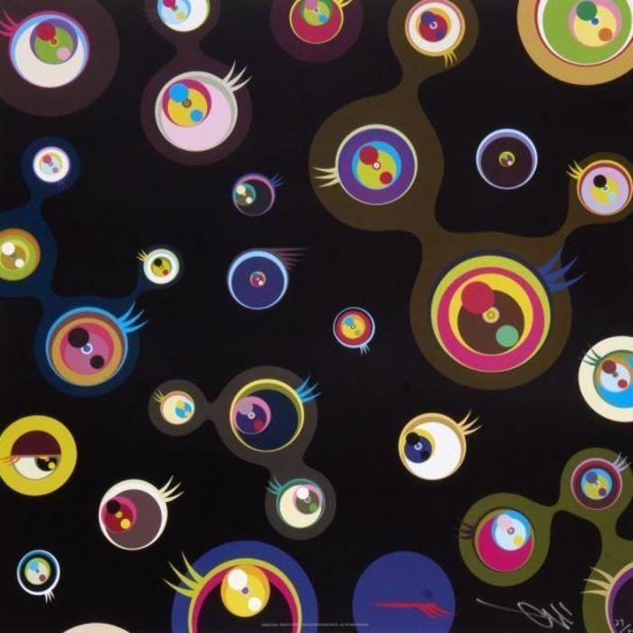 Takashi Murakami-Jellyfish Eyes - Black 3-2004