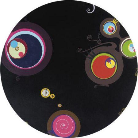Takashi Murakami-Jellyfish Eyes (Black Ball)-2002