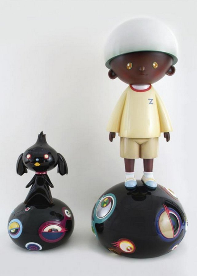 Takashi Murakami-Jellyfish Eyes-Max and Shimon-2004