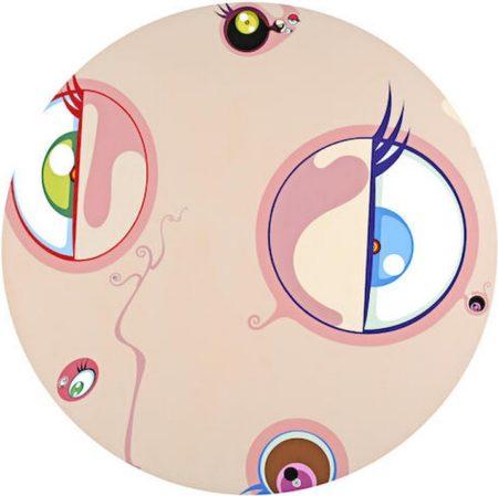 Takashi Murakami-Jellyfish Eyes (Skin Ball)-2002