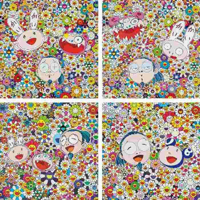 Takashi Murakami-KaiKai Kiki and Me-For Better or Worse, KaiKai KiKi and Me-The Shocking Truth Revealed ,KaiKai KiKi and Me, Me and Mr.DOB-2010