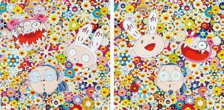 Takashi Murakami-Kaika Kiki & Me - The Shocking Truth Revealed, Kaikai kiki and Me-For Better Or Worse In Good Times and Bad The Weather is Fine-2010