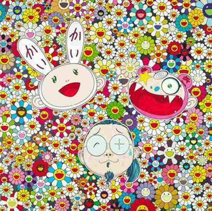 Takashi Murakami-Kaikai Kiki and Me-For Better or Worse, In Good Times and Bad The Weather is Fine-2010