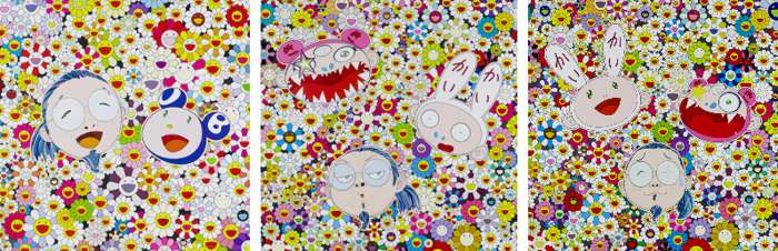 Takashi Murakami-Kaikai Kiki and Me-The Shocking Truth Revealed, Me and Mr.DOB, Kaikai Kiki And Me-For Better Or Worse In Good Times and Bad the Weather is Fine-2010