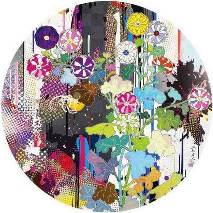 Takashi Murakami-Kansei Abstraction-2010