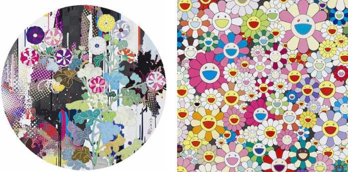 Takashi Murakami-Kansei-Abstraction, Flower Smile 2-2011