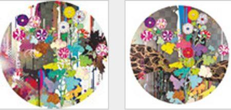 Takashi Murakami-Kansei-Abstraction, Kansei-Like the Rivers Flow-2010