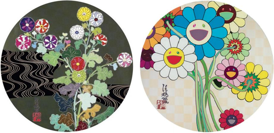 Takashi Murakami-Kansei Gold, Flowers for Algernon-2010
