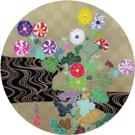 Takashi Murakami-Kansei Korin Gold-2010