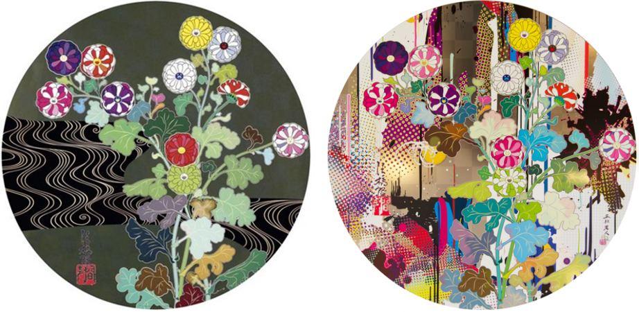 Takashi Murakami-Kansei Korin Gold, Kansei-Abstraction-2010