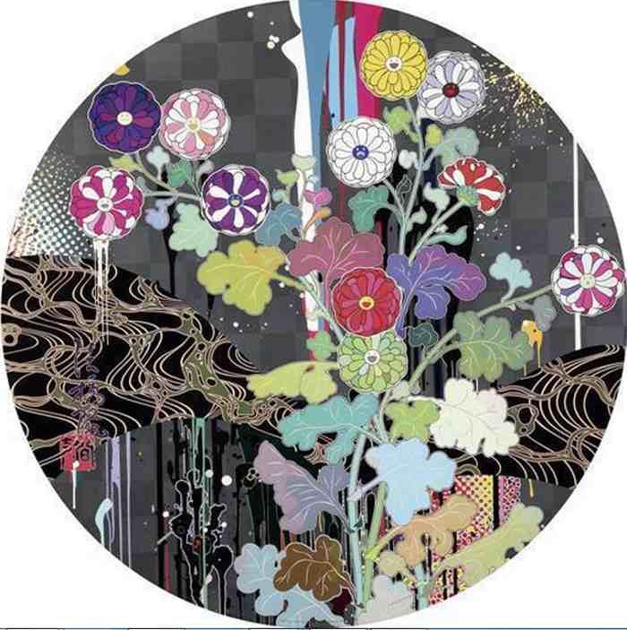 Takashi Murakami-Kansei-Like the Rivers Flow-2010