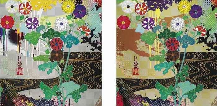 Takashi Murakami-Kansei Platinum, Kansei Gold-2012