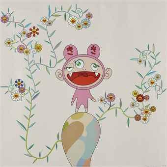 Takashi Murakami-Kiki with Moss-2003