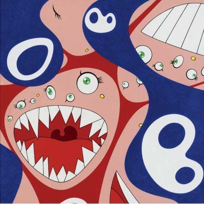 Takashi Murakami-Kleins pot A-1997