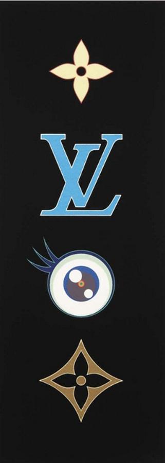 Takashi Murakami-LV Monogram Blue-2003