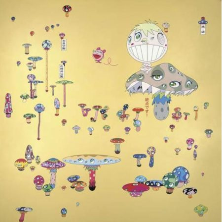 Takashi Murakami-Lost Child Returned by Myself-2001