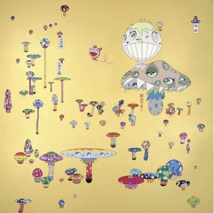 Takashi Murakami-Lost Child Returned by Myself-2001