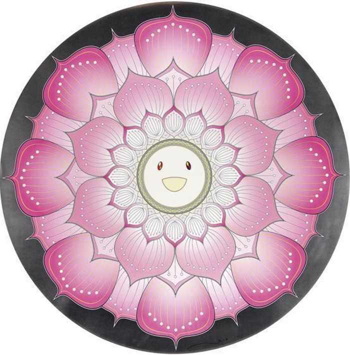 Takashi Murakami-Lotus Flower (Pink)-2010
