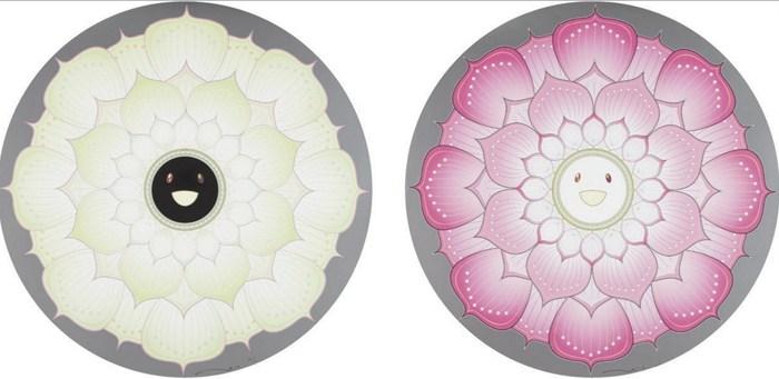 Takashi Murakami-Lotus Flower (White), Lotus Flower (Pink)-2010