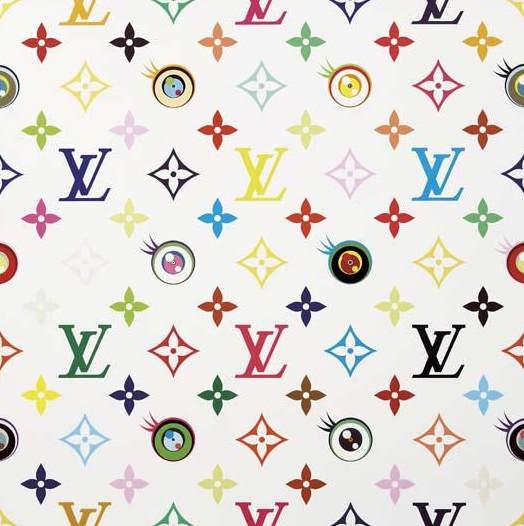 Takashi Murakami-Louis Vuitton Eye Love superflat White-2003